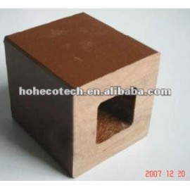 120*120 WPC recycled water-proof outdoor fence post (CE RoHS ISO9001 ISO14001)