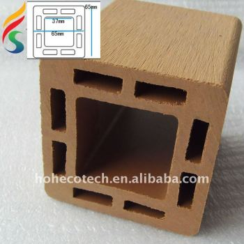hot sell wpc post/ bars for fencing, gazebo, pergola ,water proof wpc wood plastic composite ASTM REACH FSC CE APPROVED