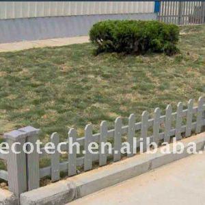 Longue vie à utiliser en plein air jardin d'escrime wpc composite clôture