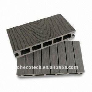 Decking composé de conception légère creuse bienvenue/plancher en bambou de plancher wpc de plancher