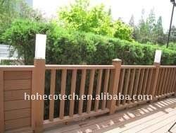 высокое качество древесины/бамбуковые ограждения wpc композитный ограёдения