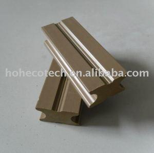 compuesto plástico de madera maciza de vigueta