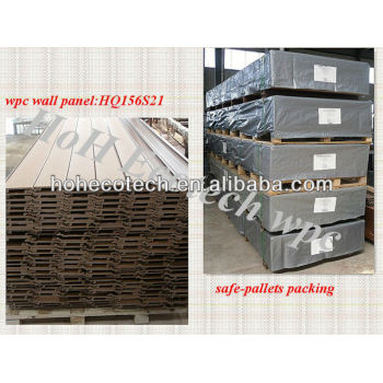 Wood plastic composite facade,wpc cladding and wpc facade