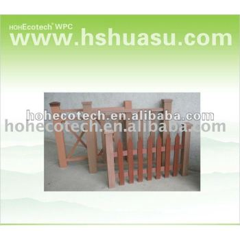 High tensile strength Wpc Fence( outerdoor wpc )