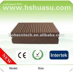 紙やすりで磨くか、または浮彫りになるwpcの最上質の固体床板(防水)