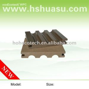 Outdoor parquet wood flooring wpc