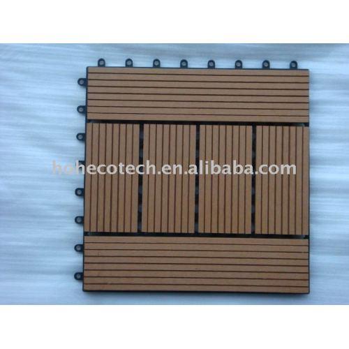 Immagine sauna bordo wpc piastrelle di ceramica legno compositi di plastica fai da te - Piastrelle di plastica ...