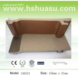 高品質のWoodlike WPCの物質的な壁パネル