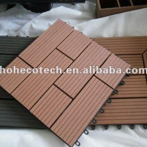 legno decking composito di plastica wpc decking incastro piastrellediceramica