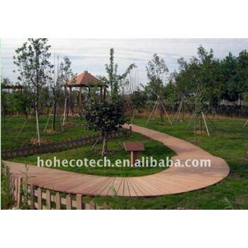 wood plastic composite decking/flooring (CE, ROHS, ASTM, ISO 9001, ISO 14001,Intertek)
