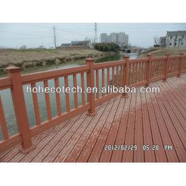OEM wood plastic composite decking