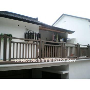 wood plastic composite railing/fencing interior stair railings