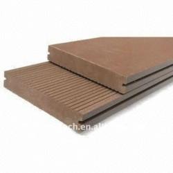 ベストセラー150*25mmのwpcのdeckingまたは床板の木製のプラスチック合成のDeckingのwpcの合成のwpcの屋外のフロアーリング