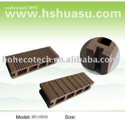 (WPC)木製のプラスチック合成のフロアーリング
