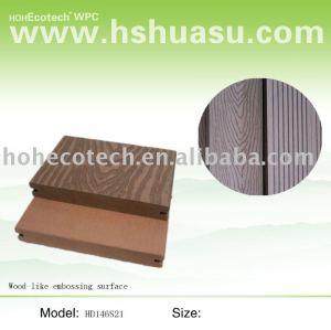 madera wpc decking como