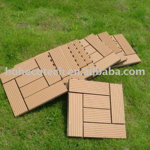 Sauna bordo wpc telhas de madeira - compósitos de plástico diy azulejo superfície de lixamento