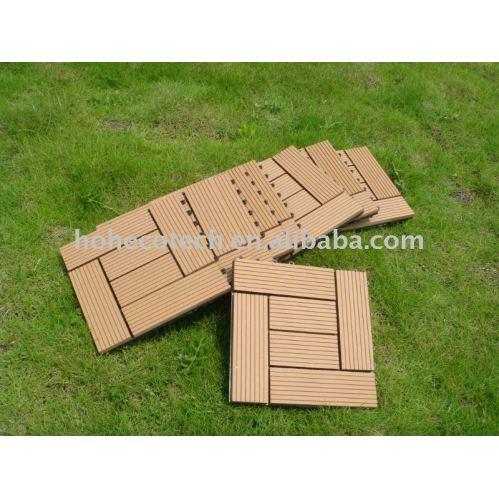 Sauna bordo wpc piastrelle di ceramica legno compositi di plastica fai da te piastrelle di - Piastrelle di plastica ...