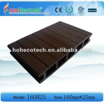 Several color HOHEcotech brand wpc decking floor -building material