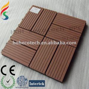 unprecedent legno decking composito di plastica piastrelle