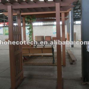 Durável eco - friendly wpc exterior gazebos ( prova de água, resistência uv, resistência à podridão e crack )