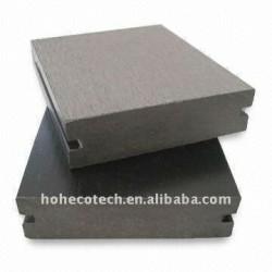 90*25mm WPCの木製のプラスチック合成のdeckingまたはフロアーリングの床板(セリウム、ROHS、ASTM、ISO9001、ISO14001、Intertek)のwpcのdeckingの床