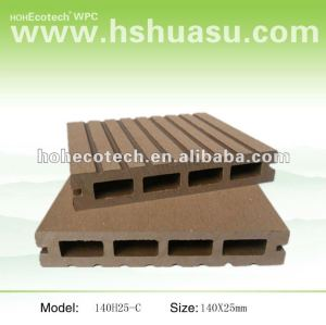 Cheap composite decking material of outdoor building WPC decking