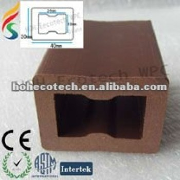 WPC hollow joist for decking floor/terrace floor/synthetic floor