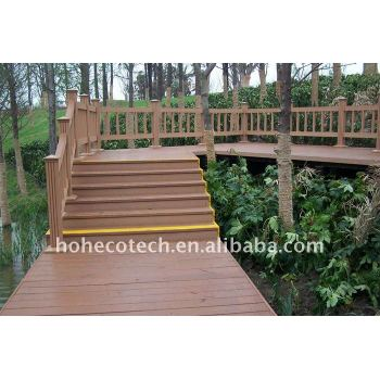 100% recyclable wpc timber deck Wood plastic composite decking/flooring decking