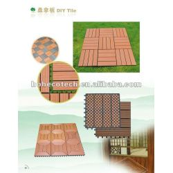 WPCのタイル(ISO9001、ISO14001、ROHSのセリウム)