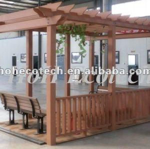 wooden and plastic pergolas/gazebo