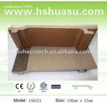 wood plastic composite WPC wall pannl