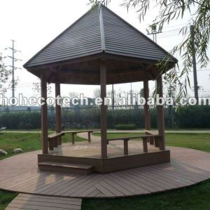 Durable eco-friendly wpc outdoor summer houses (water proof, UV resistance, resistance to rot and crack)