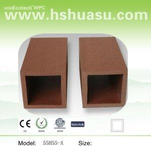 wood plastic composite trilhos