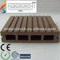 Natural wood looking Plastic Lumber WPC Decking/flooring