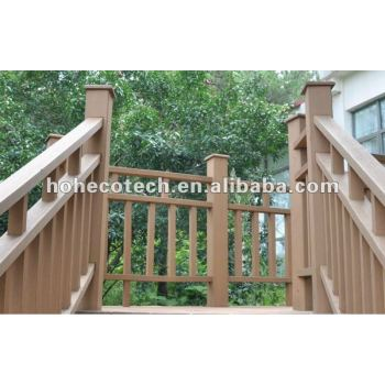 Promotion! recyclable long life WPC railing (CE RoHS)