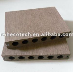 Nuevo material - eco - ambiente 100% reciclables hueco wpc cubiertas al aire libre