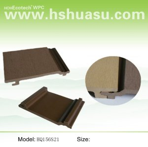 Wpc panel de pared ( ce/iso14001/iso9001 )