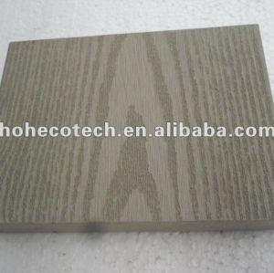 decking plein de wpc en bois du grain 140S20/decking en bois/plate-forme composée en plastique en bois