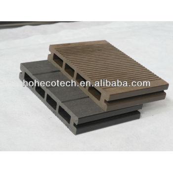 Wpc decking/hollow wood plastic decking/heat cold resistant wood plastic composite deck