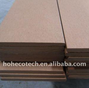 Wpc composite decking 135*9mm personnalisée. - longueur du plancher decking de wpc