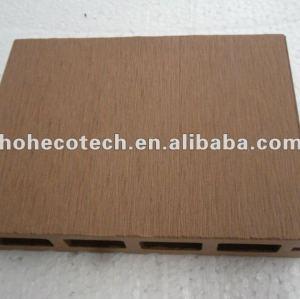 100% riciclato esterno wpc decking vuoto ( wpc pavimenti/wpc pannello murale/wpc prodotti di svago )