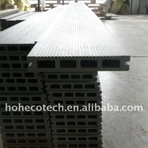 LA PLUPART de bois de construction en bois composé de 150*25mm WPC de decking de plancher de panneau de wpc populaire de /flooring