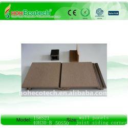 wpcの屋外の壁パネル(ISO9001、ISO14001、ROHSのセリウム)