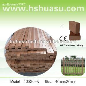 Wood plastic composite exterior wpc corrimão guarda trilhos