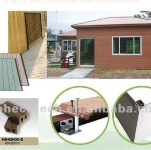 WPC Outdoor wall planks