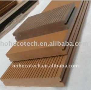 plate-forme composée en plastique en bois en bois de panneau de plancher de wpc du decking 138*23mmWPC/plancher (CE, ROHS, ASTM, OIN 9001, OIN 14001, Intertek)