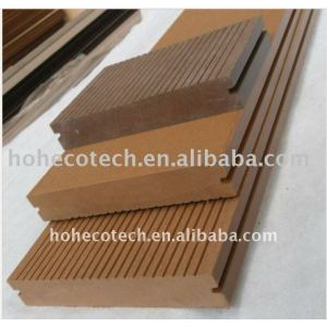 138*23mmWPC wood plastic composite decking/flooring (CE, ROHS, ASTM, ISO 9001, ISO 14001,Intertek) wpc floor board wood deck