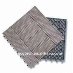 洗浄部屋の/bathroomの屋内床板の木製のプラスチック合成のdeckingかフロアーリング(セリウム、ROHS、ASTM、ISO9001、ISO14001)