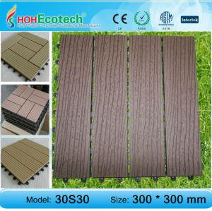 Eco- amichevole legno decking composito di plastica/pavimento di piastrelle