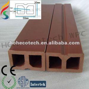 Compuesto plástico de madera wpc quilla/vigueta para el arreglo de cubiertas
